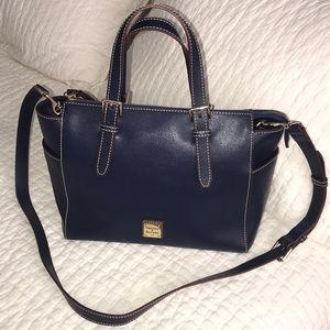 Dooney & Bourke  Maya Satchel - Marine Blue